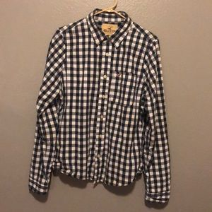 Button down hollister shirt